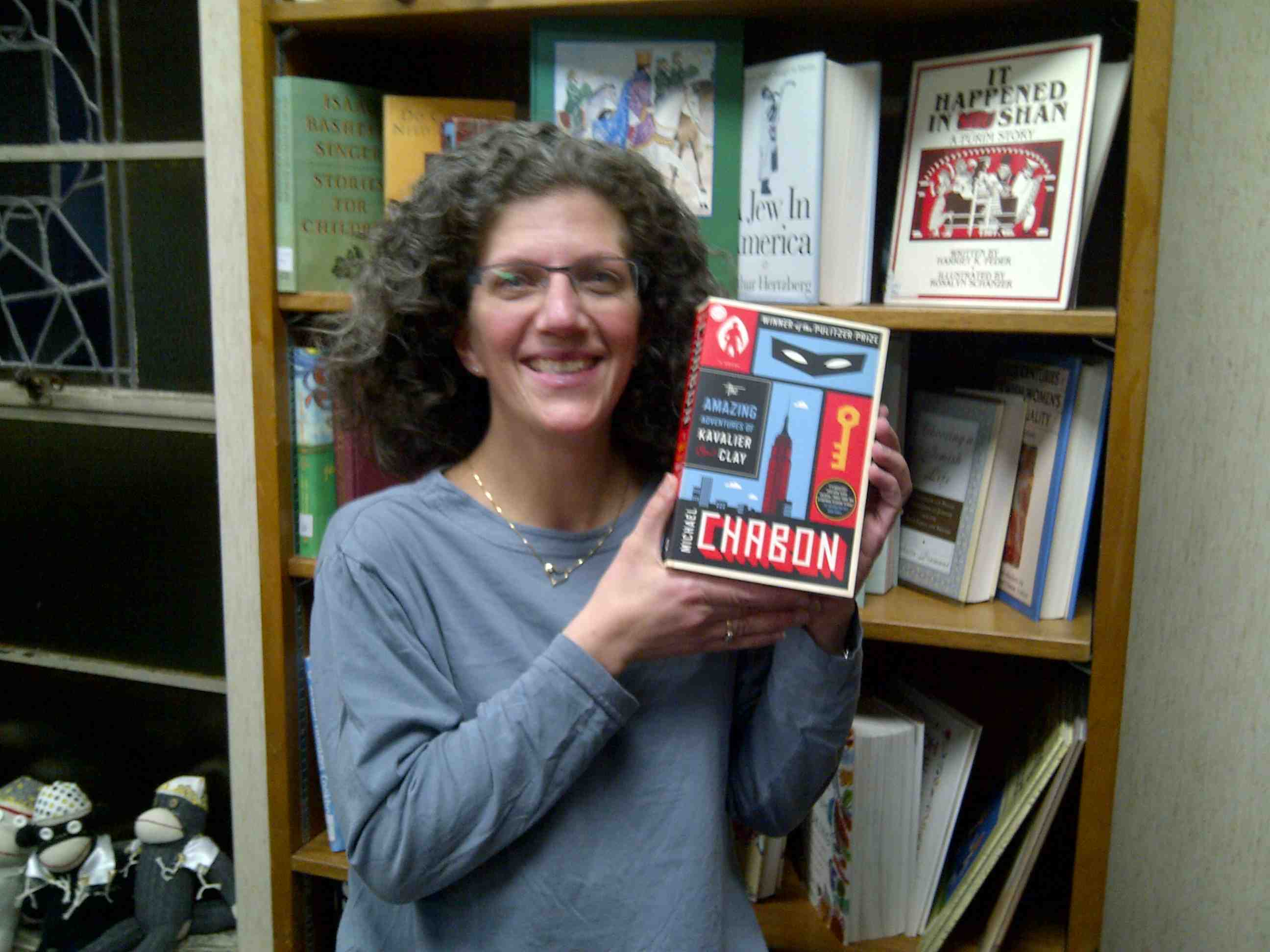 Carrie with book copy