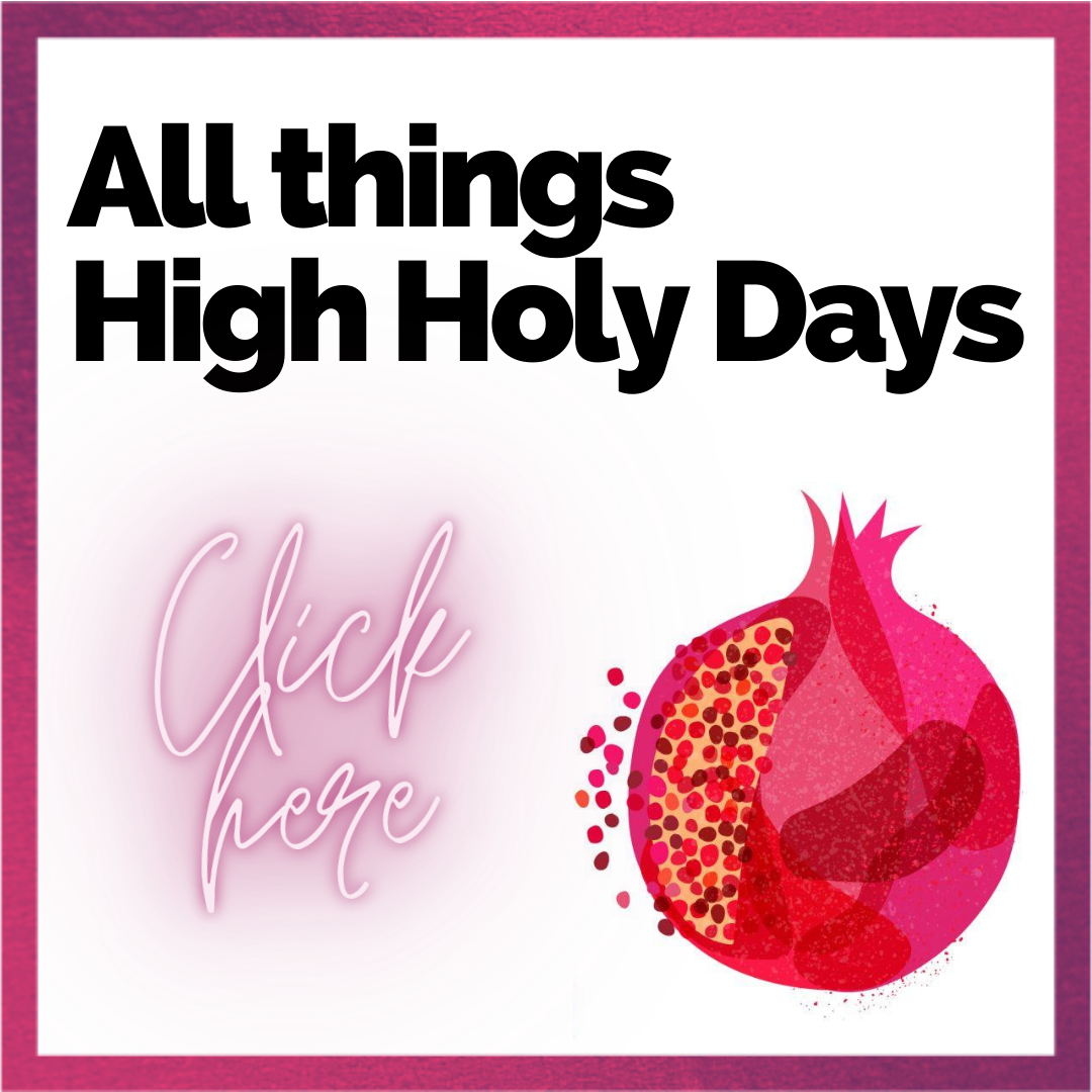 All things High Holy Days