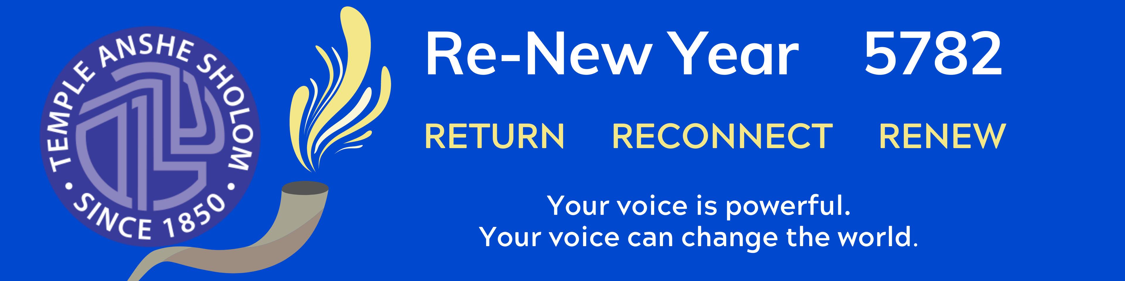 renew year banner
